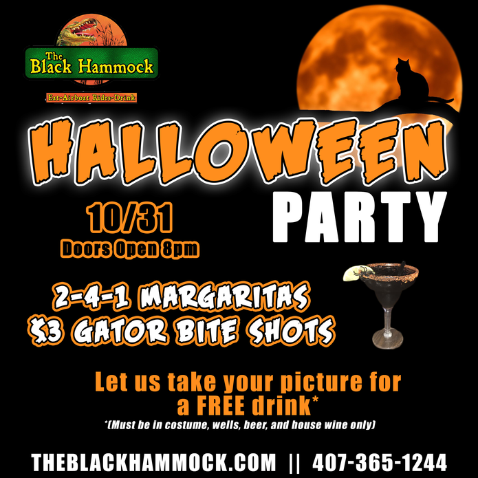 Black Hammock Halloween Event
