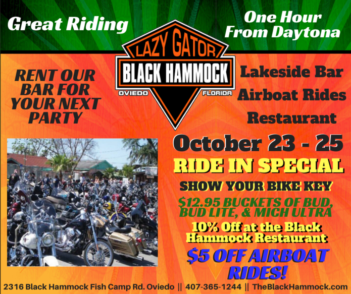 October BikeHammockFest 2020