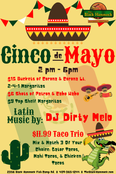 Cinco De Mayo Celebration at Black Hammock
